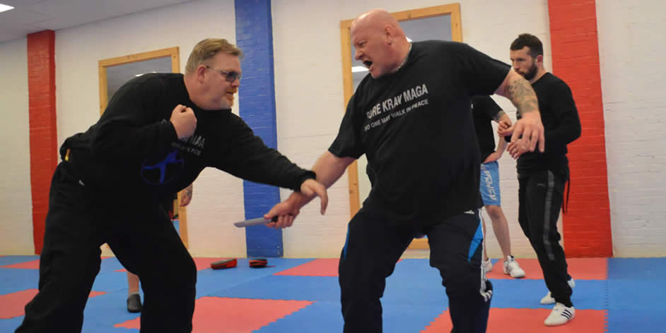 Krav Maga Knife Defence 01